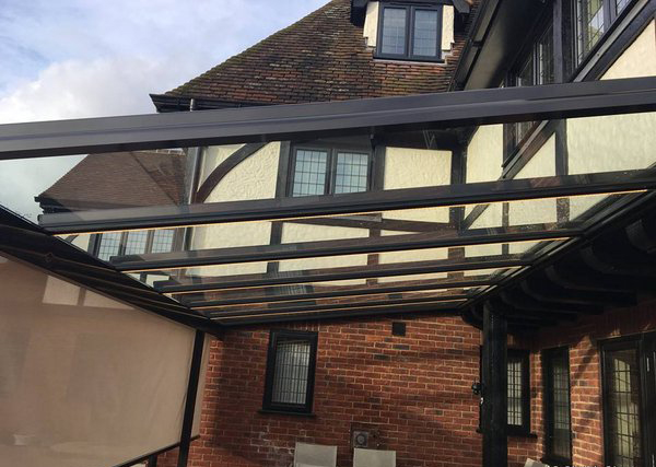 glass patio roof two