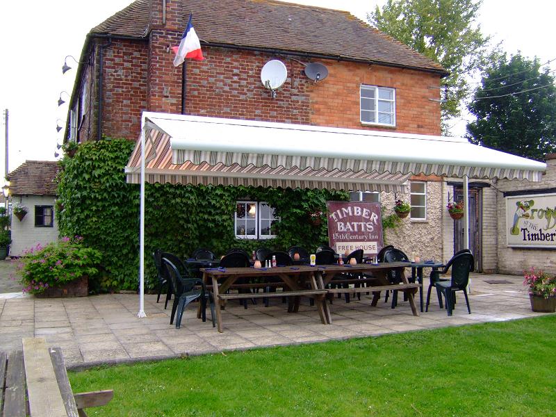pub beer garden awnings